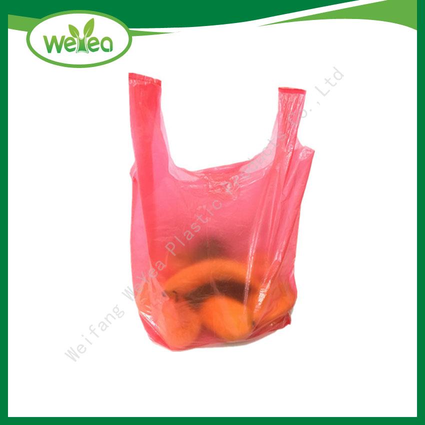 Plastic T-shirt Bags /Vest Carrier Bags
