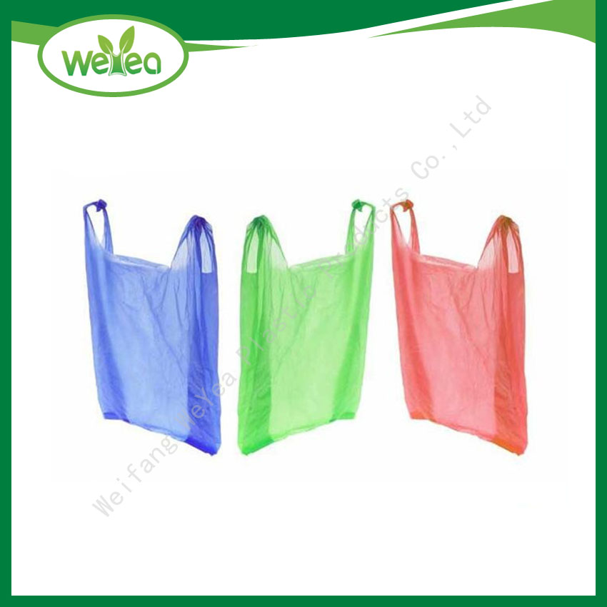 Vest Carrier Shopping Bags