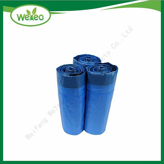 Polythene Drawstring Bags With Tie