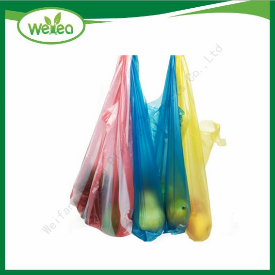 Colour T-Shirt Shopping Bags