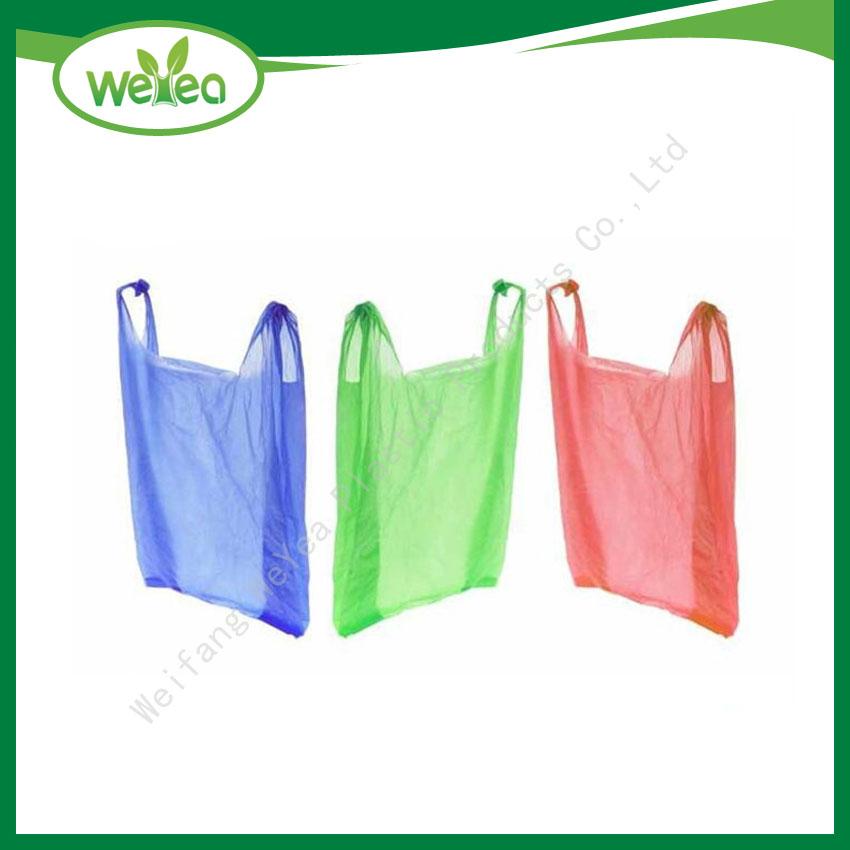 Colour T-Shirt Shopping Bags