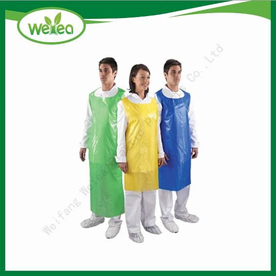 HDPE Polyethylene Disposable Aprons
