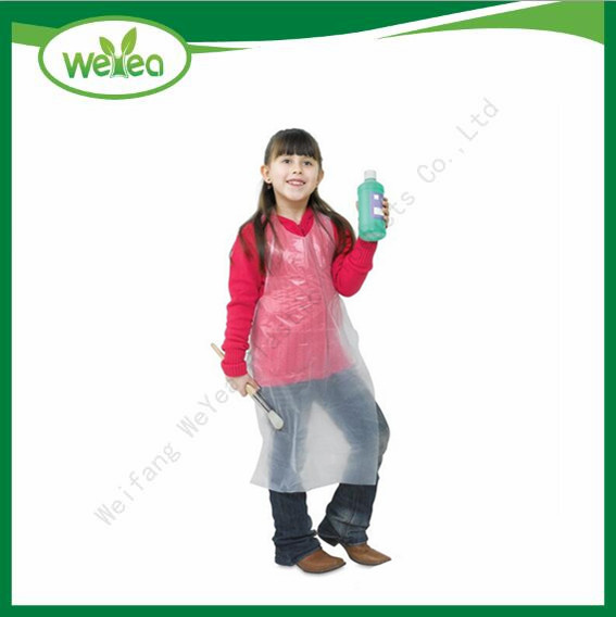 LDPE Disposable Kids Aprons