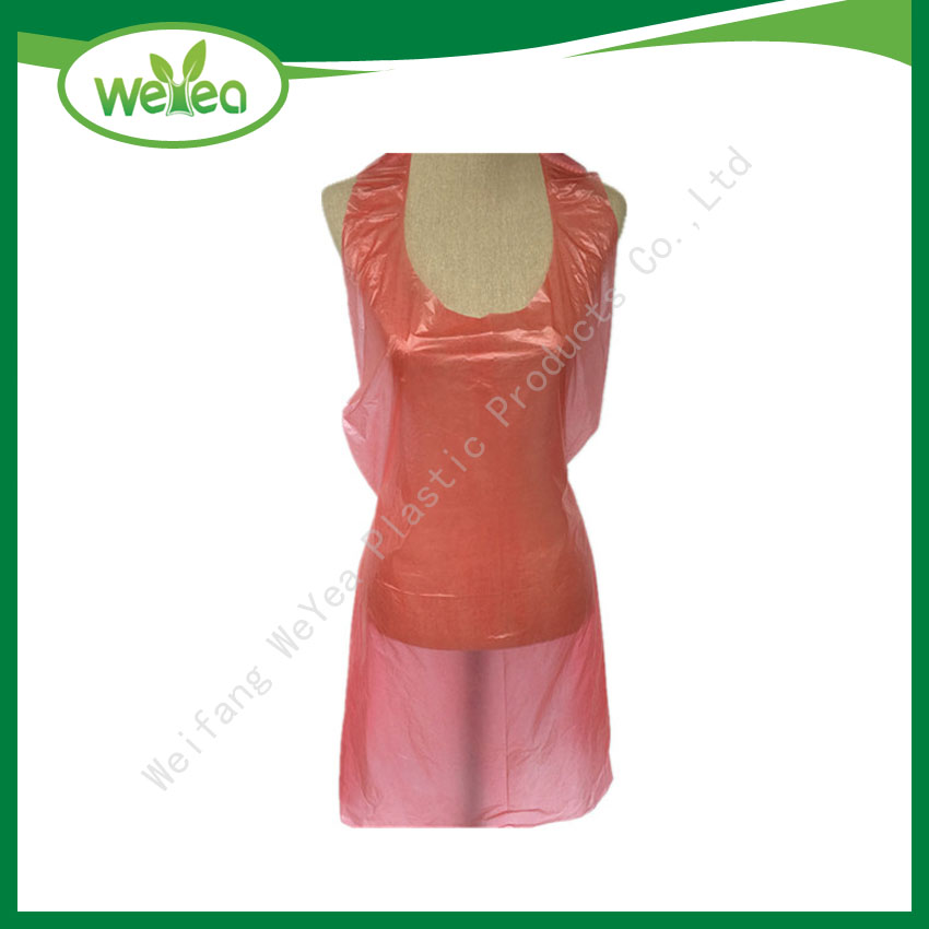 PE Plastic Disposable Aprons on Roll