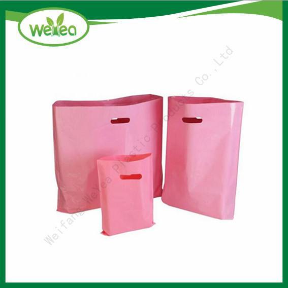 Disposable Die Cut Handle Bags