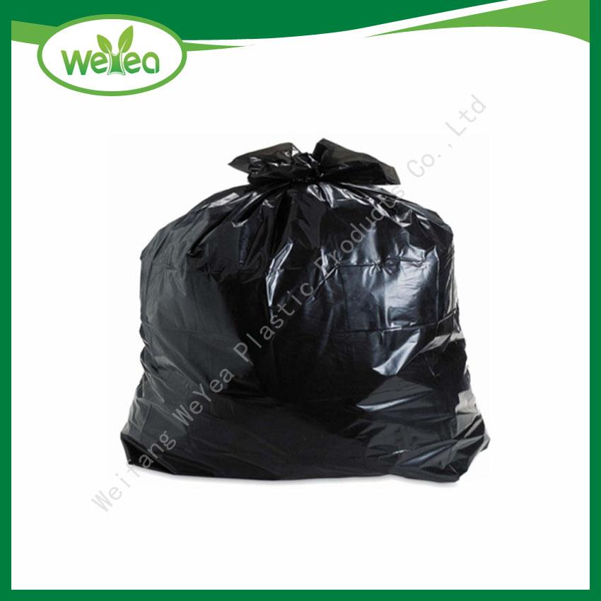 Polythene Black Contractor Trash Bags