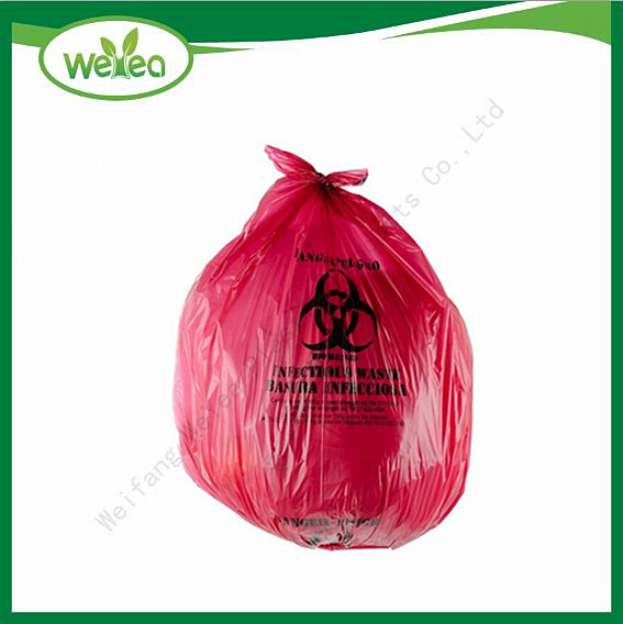 Polythene Printed Heavy Duty Trash Bags