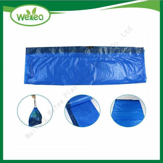 Plastic Drawstring Trash Bags With Cord