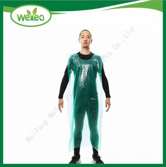 Waterproof Disposable PE Smocks