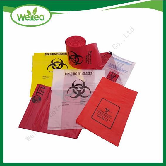 Biohazard Plastic Medical Bag