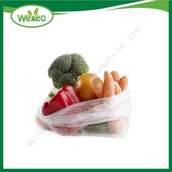Plastic Flat HDPE Food Bags
